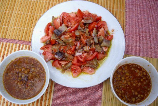 Ренгосалата с томатами